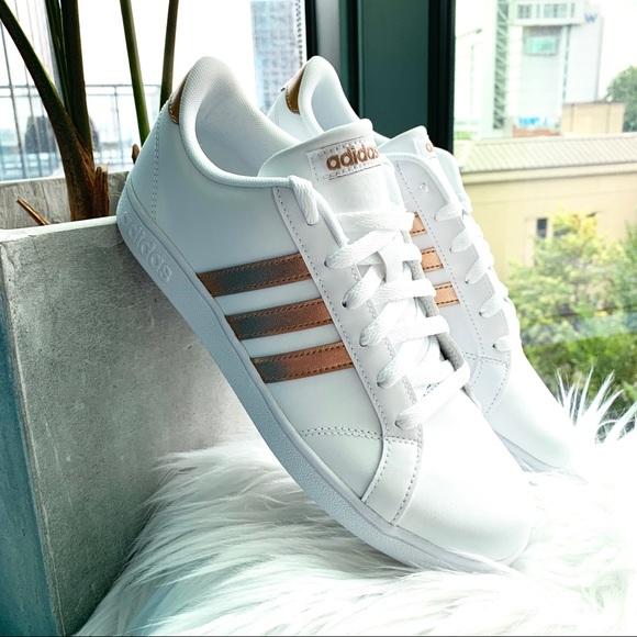 Adidas Baseline K Rose Gold Sneakers